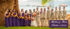 Marlene & Rome Wedding Party October 1 2014