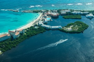 Cancun from Sky