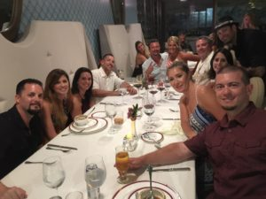 Group Travel Cancun Dinner